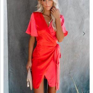 Never fully dressed dress! Color block mini